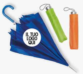 Fornitura Ombrelli Personalizzati online Extrò Gadget prezzi bassi stampa gadget personalizzati per aziende Milano