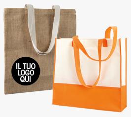Fornitura Shopper personalizzate online Extrò Gadget promozionali Stampa borse promozionali personalizzate Milano